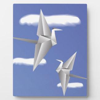78Paper Birds _rasterized Plaque