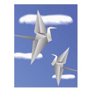 78Paper Birds _rasterized Postcard