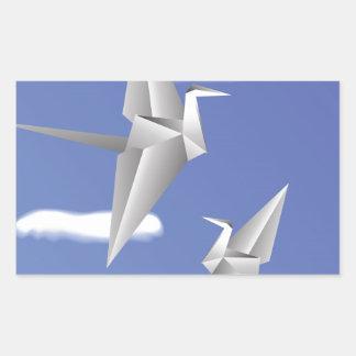 78Paper Birds _rasterized Sticker