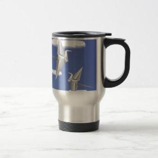 78Paper Birds _rasterized Travel Mug