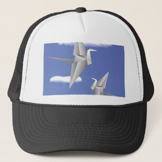 78Paper Birds _rasterized Trucker Hat