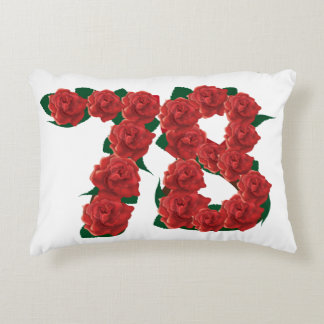 "78th Anniversary Accent Pillow 16"" x 12"""