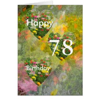 78th Birthday Card