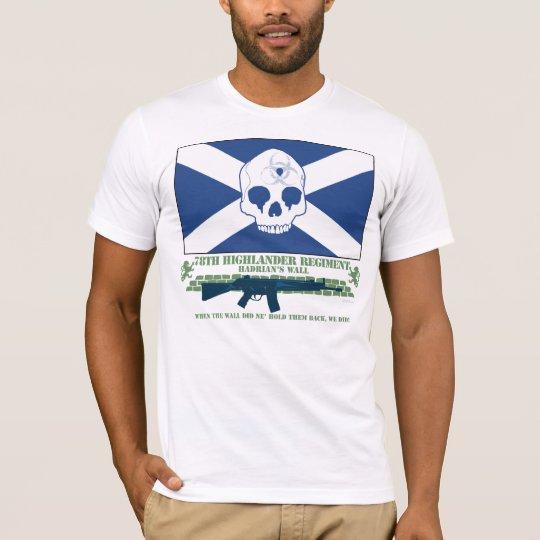 78th Highlanders Regiment T-Shirt