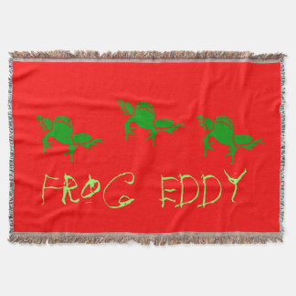 $79.95 /€ 63,05  Frog Eddy Kid's throw blanket