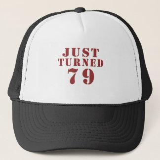 79 Just Turned Birthday Trucker Hat