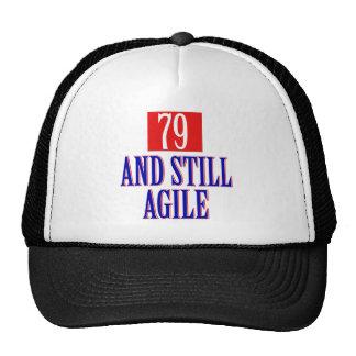 79 years old Designs Trucker Hat