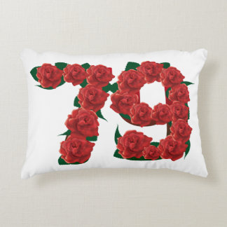 "79th Anniversary Accent Pillow 16"" x 12"""