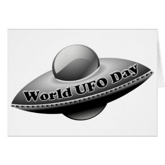 7-2 World UFO Day Card