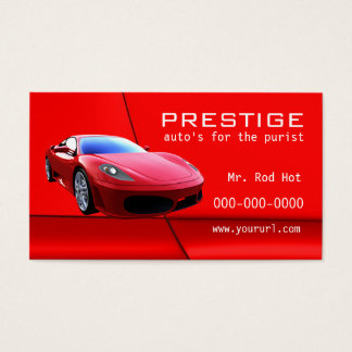 #7 Automotive Industry business card