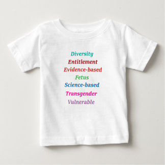 7 banned words baby T-Shirt