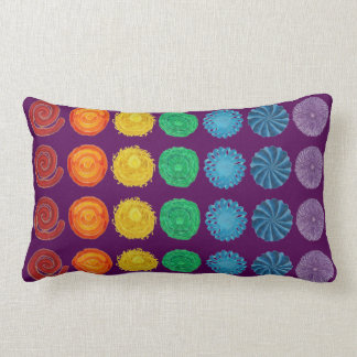 7 Chakras #1 Healing Artwork Lumbar Pillow