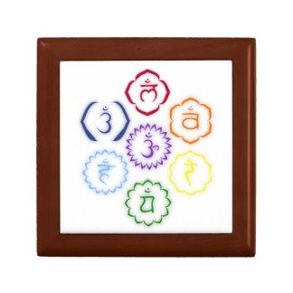 7 Chakras in Circle Gift Box