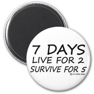 7 Days Magnet