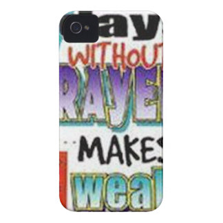 7 Days Without Prayer Case-Mate iPhone 4 Cases