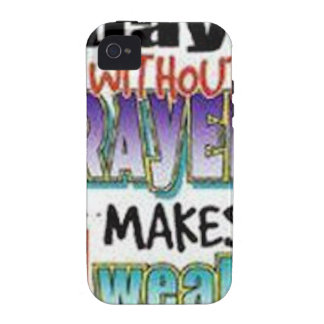 7 Days Without Prayer iPhone 4 Cover