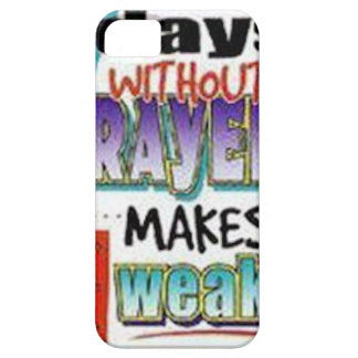 7 Days Without Prayer iPhone 5 Covers