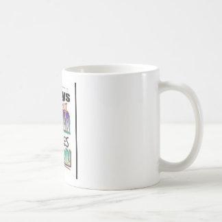 7 Days Without Prayer Classic White Coffee Mug