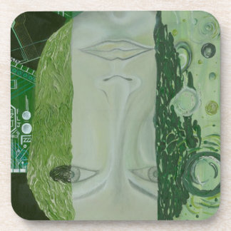 7 Dimensions in One Place Beverage Coasters