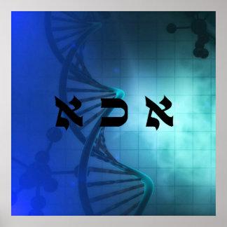 7 DNA of Soul - 72 Names of God Poster