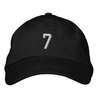 7 EMBROIDERED BASEBALL CAP