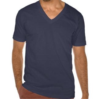 7 Heavenly Virtues Men's American Apparel V-Neck T Shirts