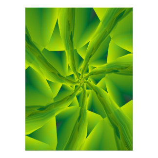 7 into1 in Green Poster