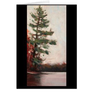 7 Island Lake White Pine Card