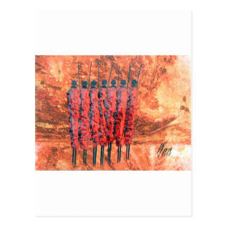 7 Maasai.jpg Postcard