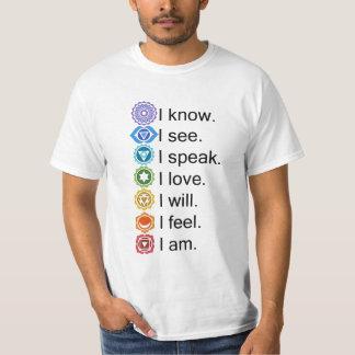 7 Major Chakras T-Shirt