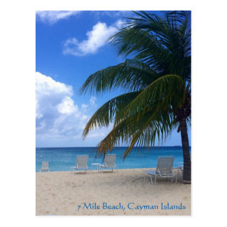 7 Mile Beach, Cayman Islands Postcard