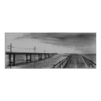 7 Mile Bridge Poster
