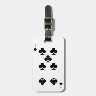 7 of Clubs Bag Tag