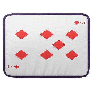 7 of Diamonds Sleeve For MacBooks