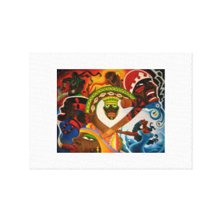 7 Orishas Wall Canvas