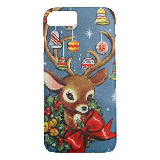 7 phone case Vintage retro reindeer Christmas Holi