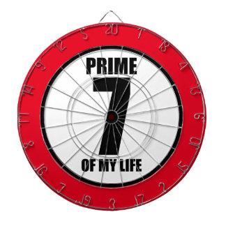 7 - prime of my life dart board