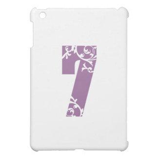 #7 Purple Floral iPad Mini Cases
