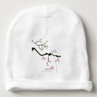 7 sakura blossoms with 7 birds, tony fernandes baby beanie