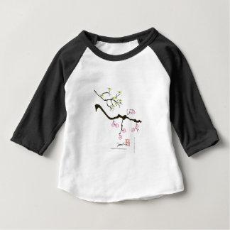 7 sakura blossoms with 7 birds, tony fernandes baby T-Shirt