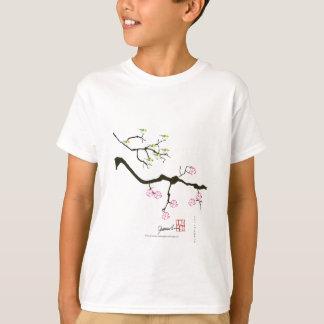 7 sakura blossoms with 7 birds, tony fernandes T-Shirt
