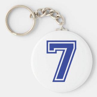 7 - seven keychain