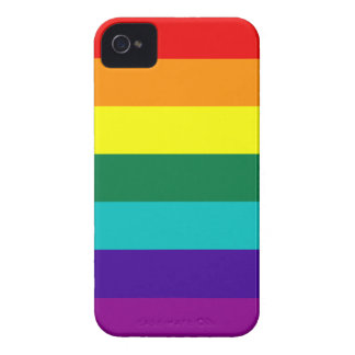 7 Stripes Rainbow Pride Barely There™ iPhone 4 Cas Case-Mate iPhone 4 Cases