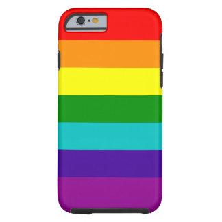 7 Stripes Rainbow Pride Case Tough iPhone 6 Case