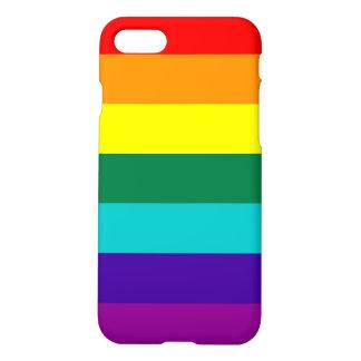 7 Stripes Rainbow Pride Flag iPhone 7 Case