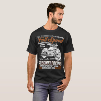 7 th Custom Engine Full Speed T-Shirt