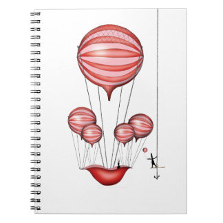 7) the hero - tony fernandes spiral notebooks