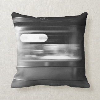 7 Train, NYC Throw Pillow