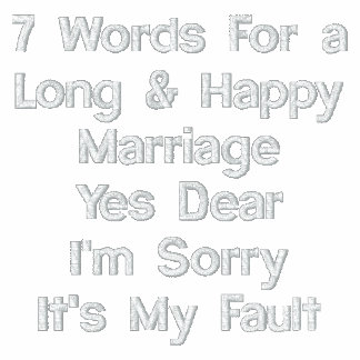 7 Words For A Long and Happy Marriage Polos