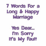 7 Words For a Long & Happy Marriage